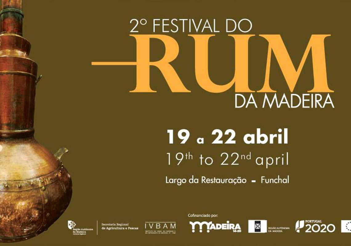 William Hinton Rum attending the 2.º Festival of Rum Madeira